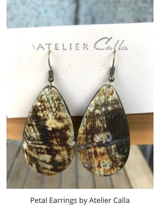 Petal Earrings by Atelier Calla