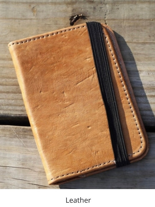 Passport Covers - Sheepskin leather