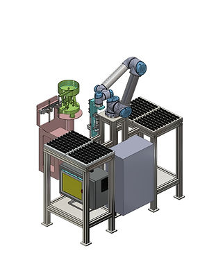 DUMMY SEAL INSERATION ROBOTIC AUTOMATION