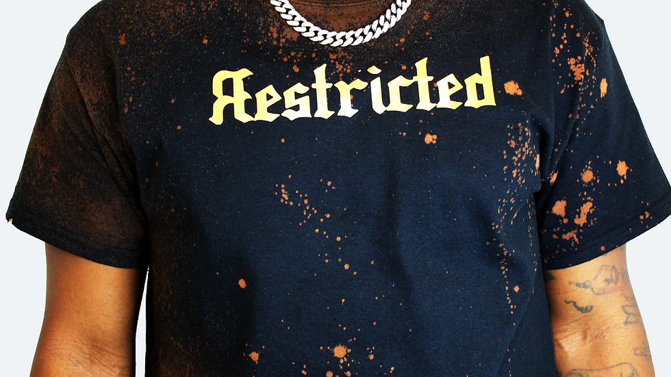Яestricted Bleached. (Gold)