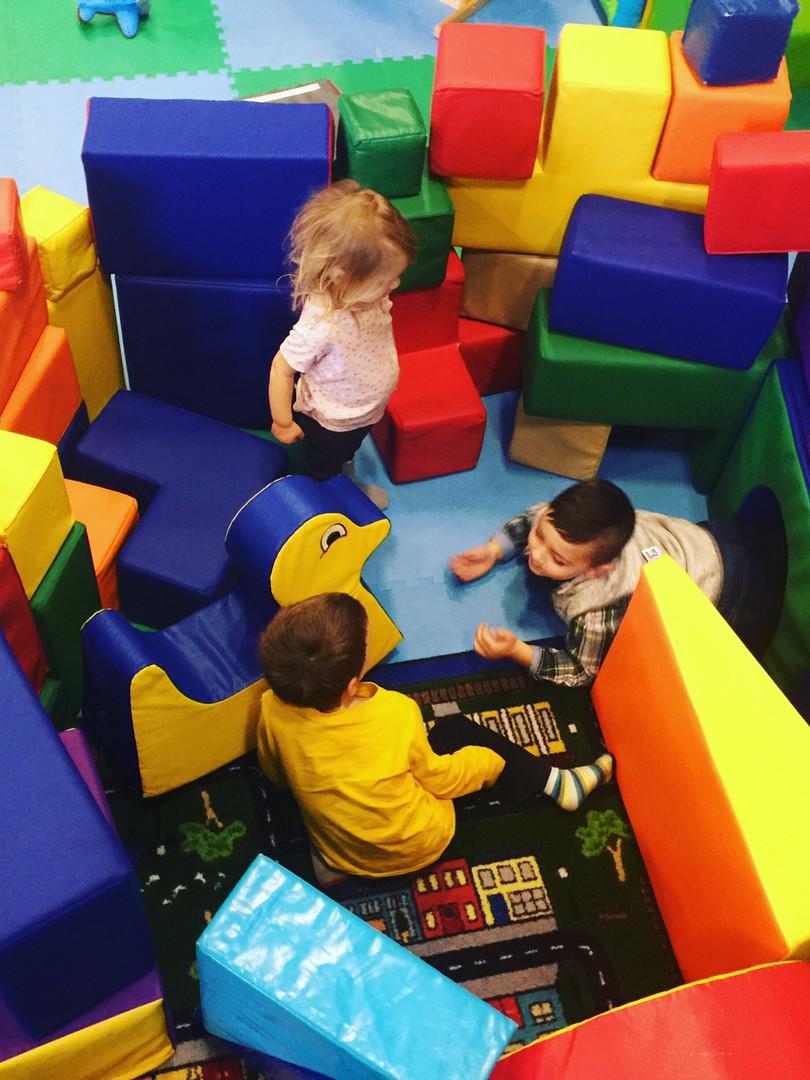 Our soft blocks are super fun!