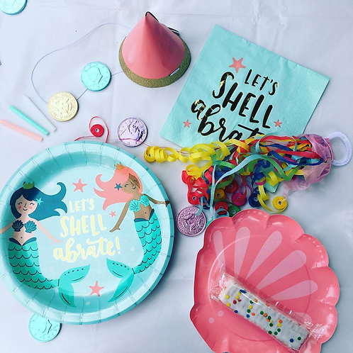 Mermaid Party Box For 1