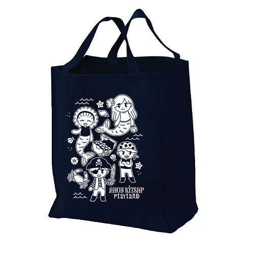 Ahoy Kitsap Playland Reusable Tote Bag