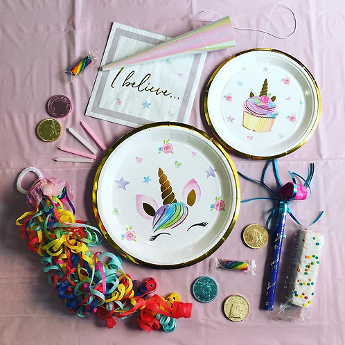 Unicorn Party Box For 1