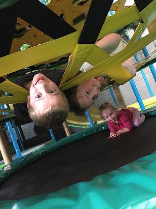 kids playing & having fun