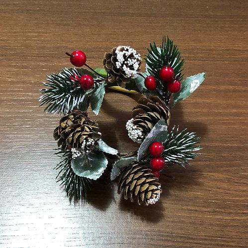 Porta Guardanapo Mini Guirlanda de Natal