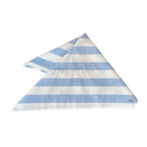 Guardanapo Azul Listras