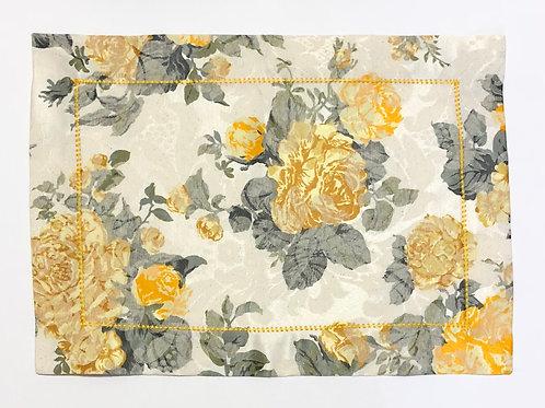 Jogo Americano Floral Amarelo