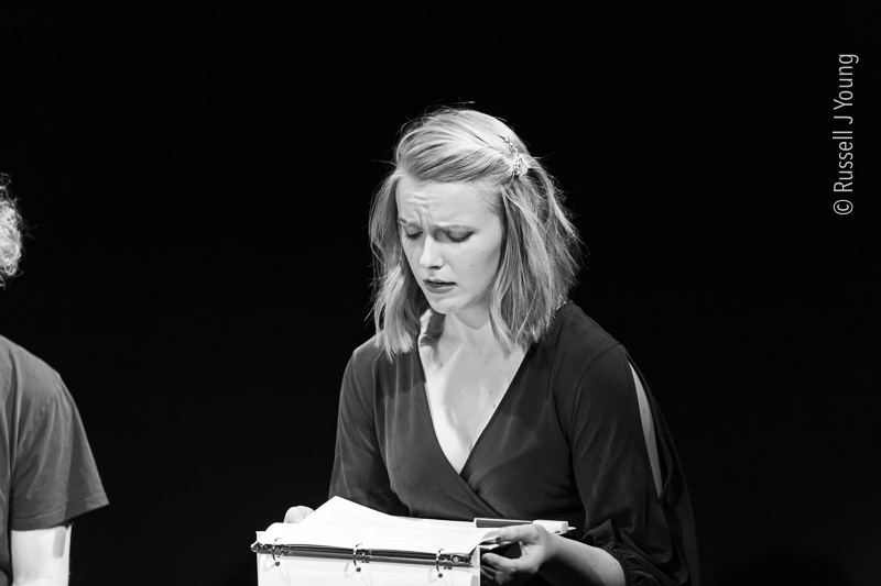 Kylie Reading Esmerelda in Crossing