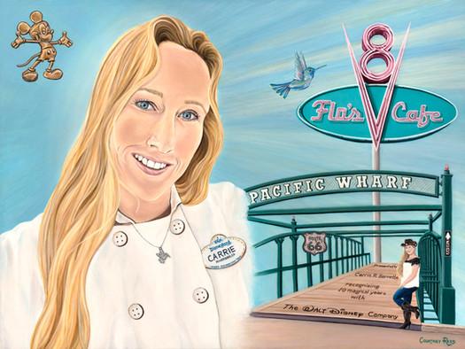 Portrait of Carrie Barnette for Las Vegas Portraits Project