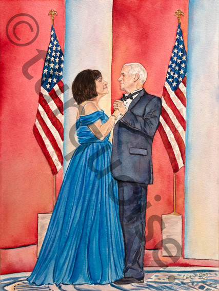 Vice President Pence and First Lady Karen Pence