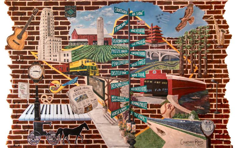 Berks County, PA Mural