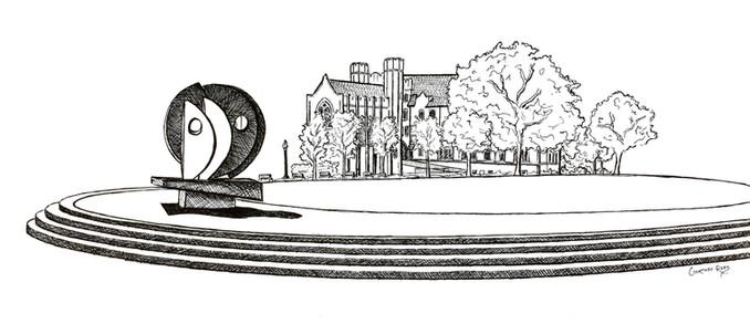 """Villanova University Corr Hall and The """"Oreo"""""""