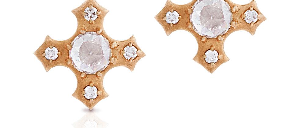 Sovereign Tudor Stud Earrings