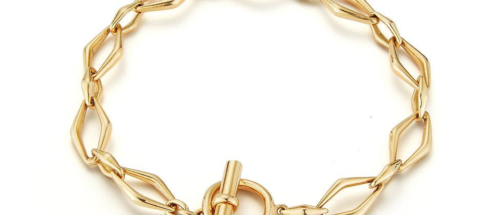 Golden Hour Hanging On Toggle Bracelet