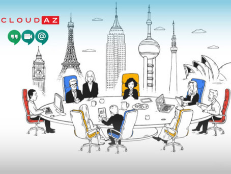 """""""Hangouts Meet"""" Công cụ làm việc từ xa trong đại dịch Corona."""