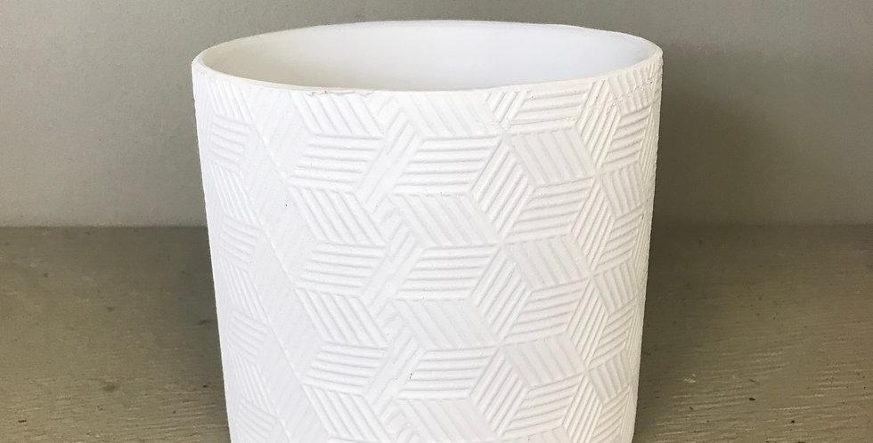 WHITE CHIMERA PLANTER