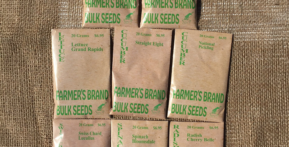 FARMERS BRAND SEED BUNDLE