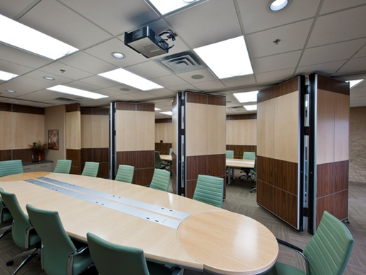 Folding Partitions. Fast and Easy Room Dividers