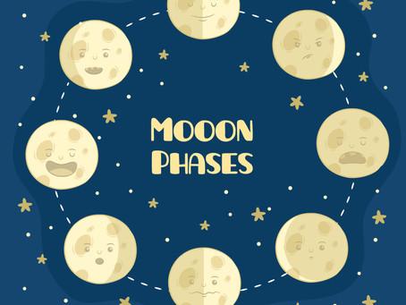 Les 4 étapes du cycle féminin et leur relation avec la lune