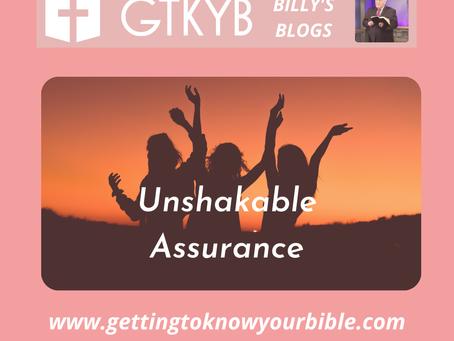Unshakable Assurance