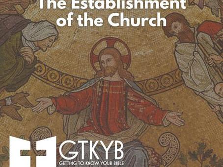 The Establishment of the church