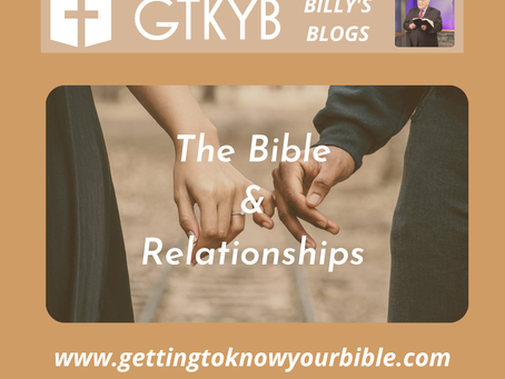 the Bible And Relationships