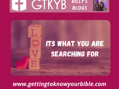 Love is What You Are Searching For