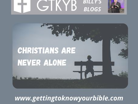 Christians Are Never Alone