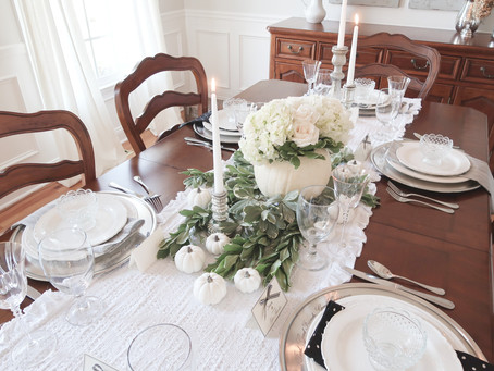 A Gracious Thanksgiving Table