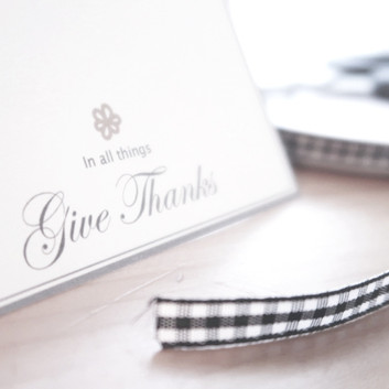 Give Thanks Place Cards