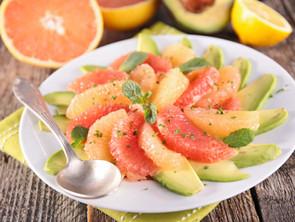 Grapefruit Avocado Salad