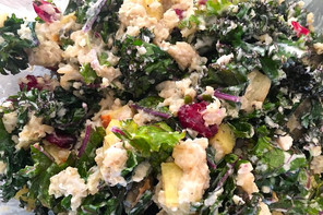 Kale with Sweet Potato and Quinoa