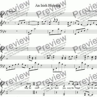 An Irish Blessing Sheet Music