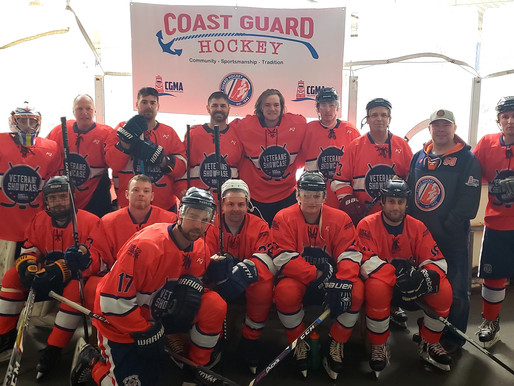 Coast Guard Hockey Takes Colorado by Storm