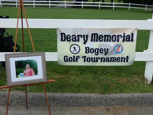 1st Annual Deary Memorial Golf Tournament raises $5,000
