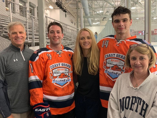 2021 NHL Draft with Coast Guard Connection