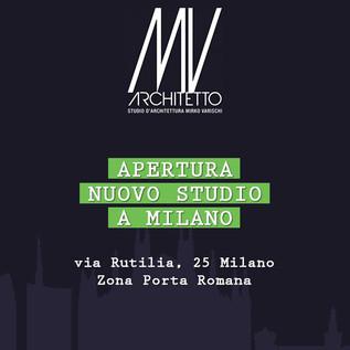 Apertura nuovo studio Milano