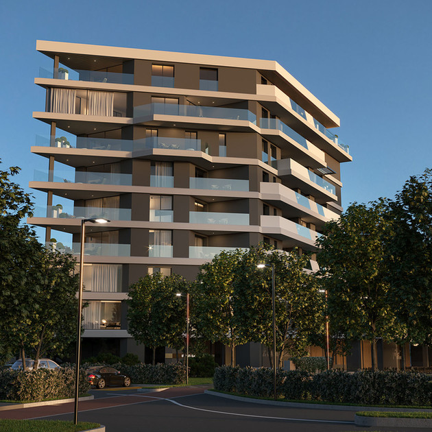 NEW RESIDENTIAL BUILDING