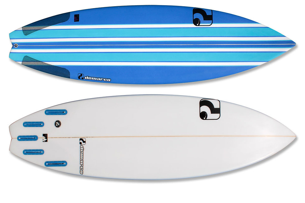 demarco surfboards White Fire Model