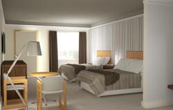 Fancy Motel Room View1