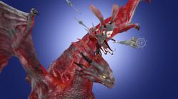 The Girl riding Dragon view 6
