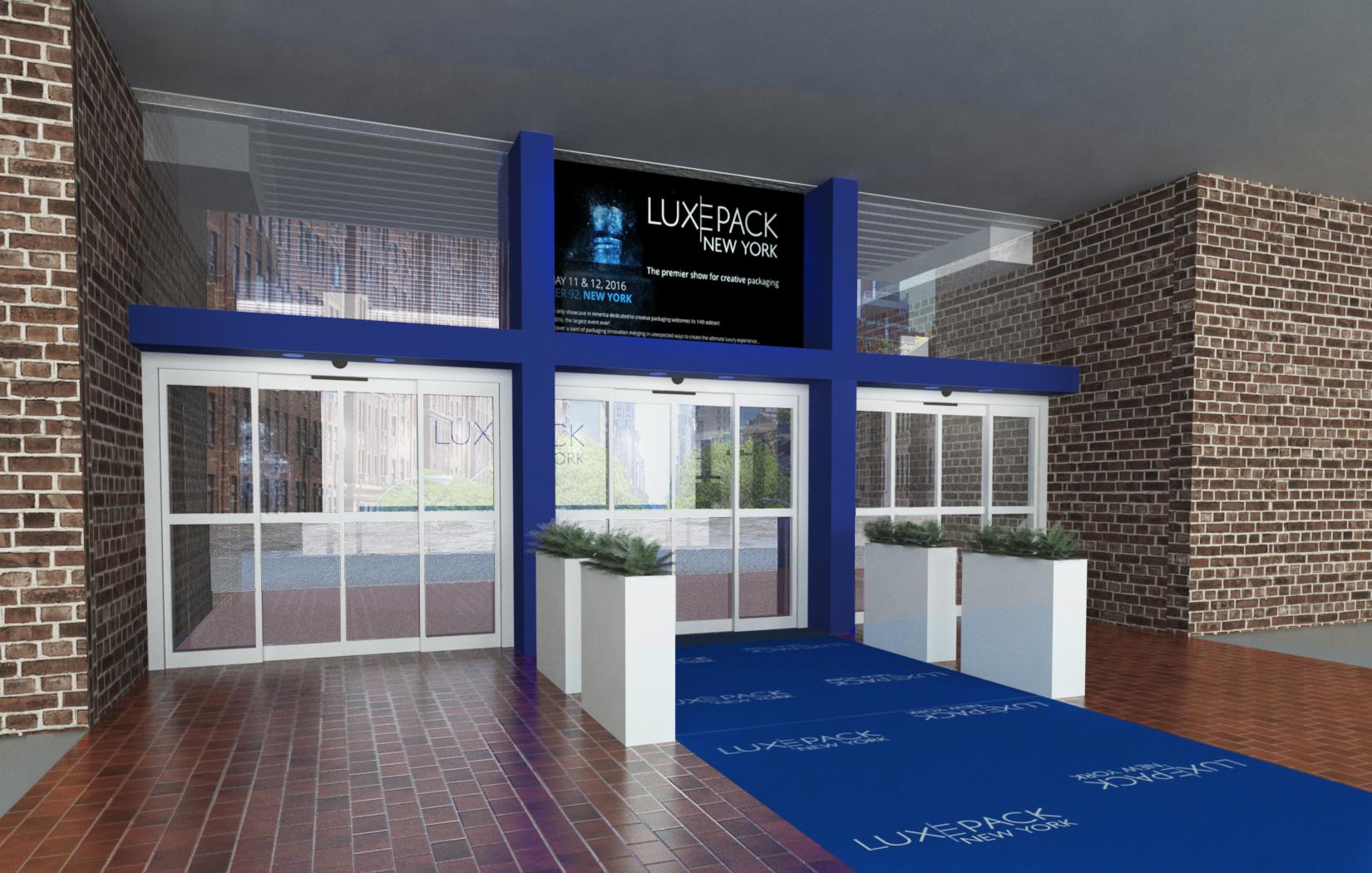 LUXEPACK 2016 - ENTRACE AREA