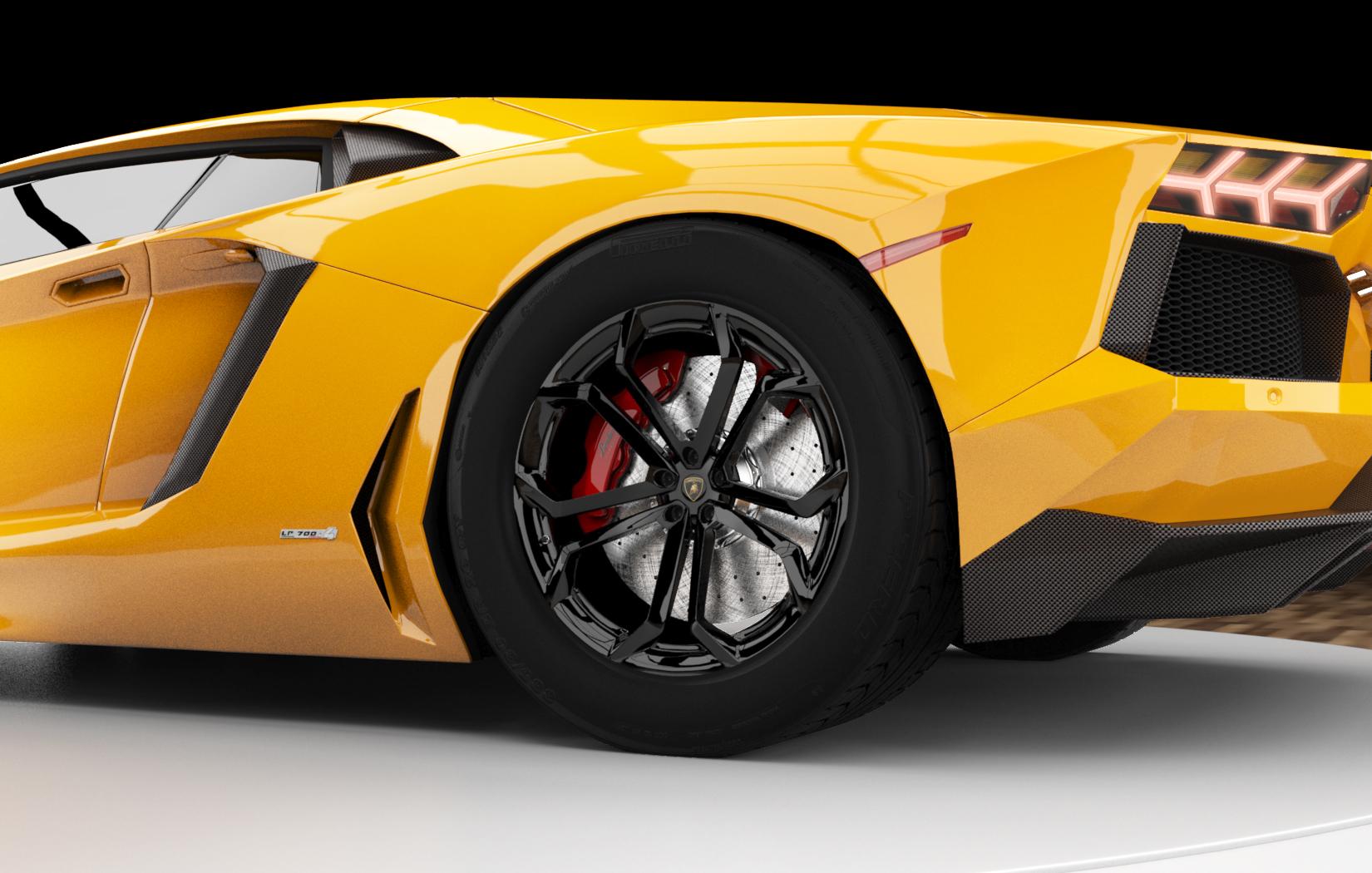 Rear Wheel View
