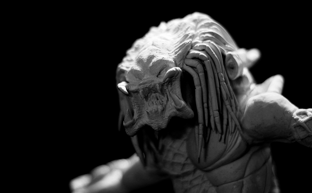 Predator Clay Sculpting