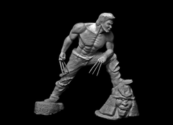 Wolverine Clay Sculpting