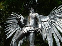 Raven Man Sculpture edited