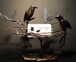 magpie jewelry custom cardholder