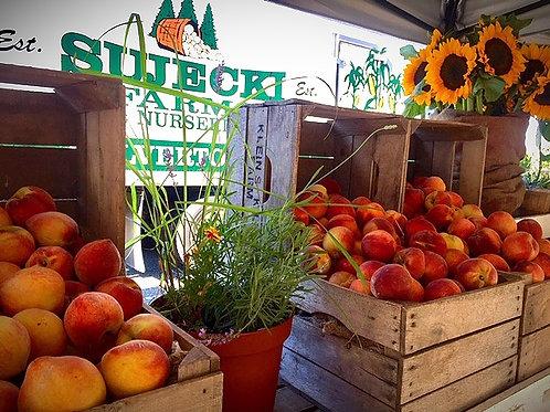 White Peaches - Smithtown Farm to Trunk Only