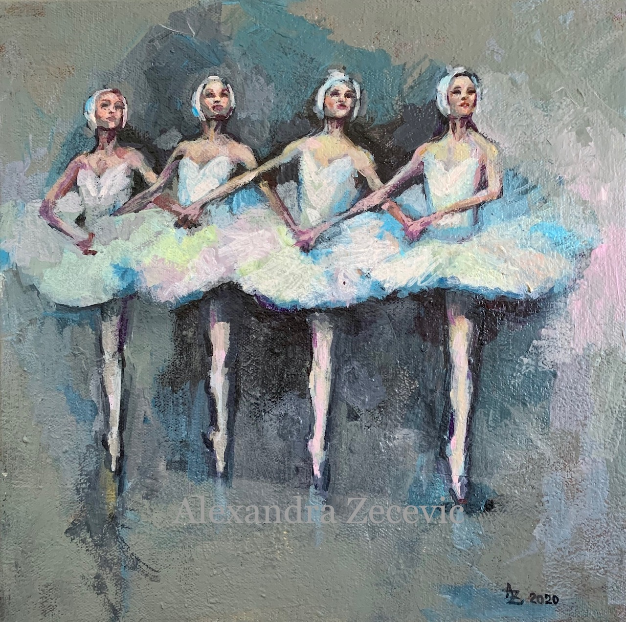 Swan lake ballerinas